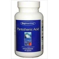 パントテン酸 サプリメント 500mg 植物性90粒