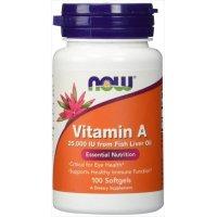 Vitamin A 25000 IU, 100 Sgels