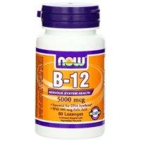ビタミンB-12 5000mcg 60粒 葉酸+ビタミンB12