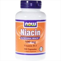 Niacin, 100 Caps 500Mg