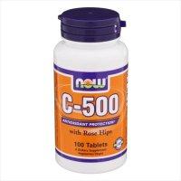 ビタミンC 500mg (ベジタリアン/ビーガン仕様) 100粒