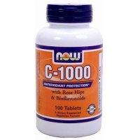 C-1000+ローズヒップ&バイオフラボノイド 100タブレット