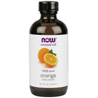 Now Foods Orange Oil, 4 OZ SWEET