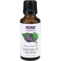 Now Foods Lavender Oil, 1 OZ & TEA TREE